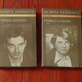 Carte --- Nichita Stanescu - Ordinea cuvintelor - 2 volume - Ed. Cartea romaneasca 1985 !!!