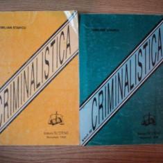CRIMINALISTICA VOL I, II de EMILIAN STANCU, 1995