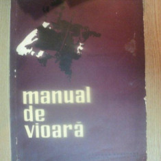 MANUAL DE VIOARA VOL II de IONEL GEANTA, GEORGE MANOLIU, 1961 - Muzica Dance