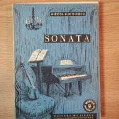 SONATA de MIRCEA NICOLESCU, 1962 - Muzica Dance