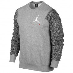 Hanorac Jordan Ele Sleeve Fleece Crew   Produs 100% original   Livrare cca 10 zile lucratoare   Aducem pe comanda orice produs din SUA - Bluza barbati