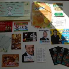 Set de 19 calendare de colectie, anul 2010, ideale pentru colectionari, colectie calendare, diverse tematici - Calendar colectie