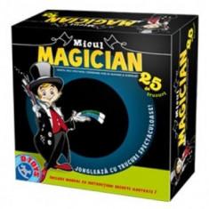 Micul Magician joc pentru copii Invata 25 trucuri - Jocuri arta si creatie D-Toys, Unisex