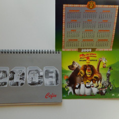 Set de trei calendare de colectie, anul 2009, pentru colectionari, colectie - Calendar colectie