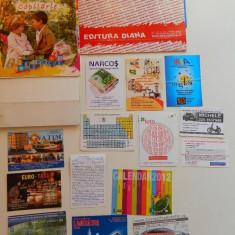 Set de 19 calendare de colectie, anul 2012, mari si mici, ideale pentru colectionari, colectie calendare, diverse tematici - Calendar colectie