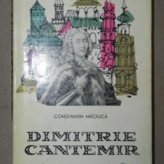 DIMITRIE CANTEMIR-CONSTANTIN MACIUCA