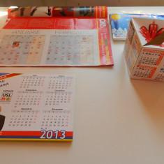Set de 3 calendare de colectie, anul 2013, mari si mici, ideale pentru colectionari, colectie calendare, diverse tematici - Calendar colectie