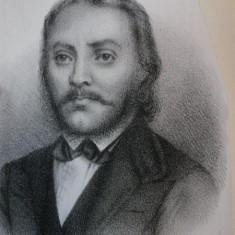 GEORGIU LAZARU SI SCOL'A ROMANA BUC. 1871-PETRU POENARIU - Carte veche