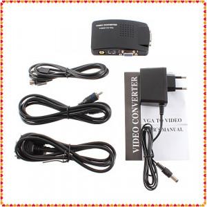 Convertor Video AV S-Video RCA la VGA