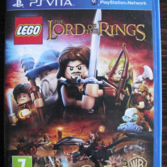 PSVITA The Lord of The Rings - seria LEGO - Jocuri PS Vita, Actiune, 3+, Single player