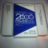 Baterie externa Accessorize Super Power Bank 2600mAh BV-007+CABLU AMBALARE LA CUTIE