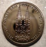 10.207 GERMANIA 100 ANI ANIVERSARE CATEDRALA KOLN 5 DEUTSCHE MARK 1980 F PROOF