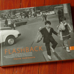 Carte - album fotografic - fotografie alb negru - Flashback ( 1975 - 1995 0 - fotograf Florin Andreescu - Ed. Ad Libri 2009 !!! - Carte Fotografie