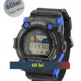 Ceas QIIN CA7900I SUBACVATIC 3atm. - Ceas barbatesc, Sport, Quartz, Cauciuc, Rezistent la apa, Electronic