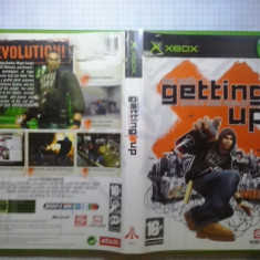 Joc XBox classic - Marc Ecko's Getting up - Contents under pressure - (GameLand - sute de jocuri) - Jocuri Xbox, Actiune, 16+, Single player