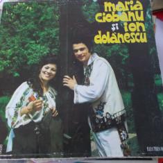 MARIA CIOBANU SI ION DOLANESCU , VINIL FARA ZGARIETURI