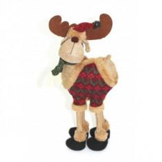 Ren cu pulover si clopotei - Ornamente Craciun