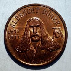 1.171 JETON ALBRECHT DURER 1471 1971 NURNBERG 20mm - Jetoane numismatica
