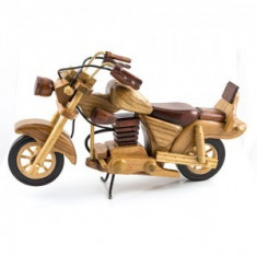 Macheta Motocicleta Lemn