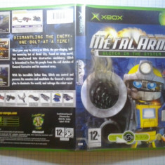 Joc XBox classic ( Compatibil XBox 360 ) - Metal Arms - Glitch in the system - (GameLand - sute de jocuri) - Jocuri Xbox, Strategie, 12+, Multiplayer