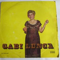 VINIL L.P. GABI LUNCA - Muzica Lautareasca