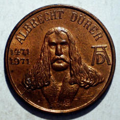 1.173 JETON ALBRECHT DURER 1471 1971 NURNBERG 20mm - Jetoane numismatica