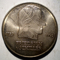 A.379 GERMANIA RDG DDR FRIEDRICH SCHILLER 20 MARK 1972, Europa