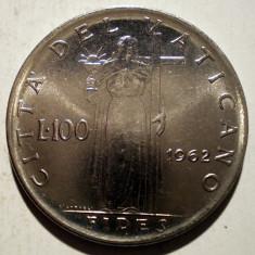 1.129 VATICAN PAPA IOAN XXIII FIDES 100 LIRE 1962, Europa