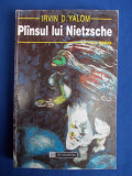 IRVIN D.YALOM - PLANSUL LUI NIETZSCHE ( ROMAN ) - BUCURESTI - 1995 *, Humanitas