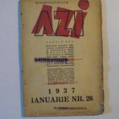 REVISTA LUNARA '' AZI '', IANUARIE 1937, NR. 26