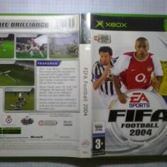 FIFA Fotball 2004 - Joc XBox classic ( Compatibil XBox 360 ) (GameLand ) - Jocuri Xbox, Sporturi, 3+, Multiplayer