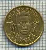 JETON 05 PENTRU COLECTIONARI - IBRAHIM TANKO - AGRIFF(ATACANT) - FOTBAL -BV BORUSSIA DORTMUND- GHANA -STAREA CARE SE VEDE
