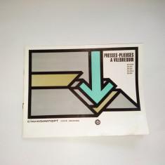 Pliant - prezentare Presa de Pliere cu arbore cotit '60( in limba franceza)