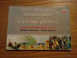 DESEN ARTISTIC si EDUCATIE PLASTICA ( clasa a VI -a ) -- N. Filoteanu, Doina Marian -- ed. All, 1999, 80 p. cu imagini in text, Alta editura