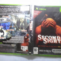 Joc XBox classic - Second sight - (GameLand - sute de jocuri) - Jocuri Xbox, Actiune, 16+, Single player