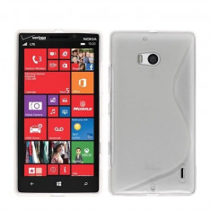 Husa Nokia Lumia 930 TPU S-LINE Transparenta - Husa Telefon Nokia, Gel TPU, Fara snur, Carcasa