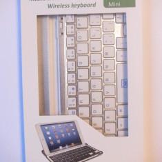 Tastatur? Bluetooth Mobile pentru Ipad Mini - Taste albe - Tastatura tableta