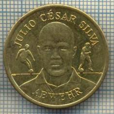 JETON 09 PENTRU COLECTIONARI -JULIO CESAR SILVA - ABWEHR(APARATOR) - FOTBAL -BV BORUSSIA DORTMUND- BRAZILIA -STAREA CARE SE VEDE