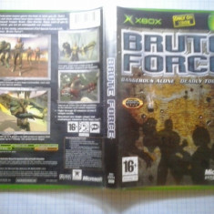 Brute force - Joc XBox classic (GameLand) - Jocuri Xbox, Shooting, 16+, Multiplayer