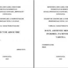 LUCRARE DE LICENTA A.M.G. - ROLUL ASISTENTEI MEDICALE IN INGRIJIREA BOLNAVILOR CU VARICELA