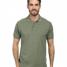 Tricou Lacoste Polo Army Green - Tricou barbati, Marime: S, Culoare: Din imagine, Maneca scurta, Bumbac