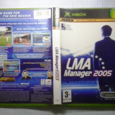 LMA Manager 2005 - Joc XBox classic (GameLand) - Jocuri Xbox, Strategie, 3+, Single player