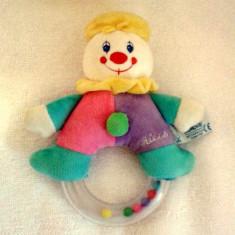 Doua jucarii zornaitoare bebelusi Chicco/Fisher Price - Jucarie zornaitoare Chicco, 3-6 luni, Unisex, Multicolor, Plastic