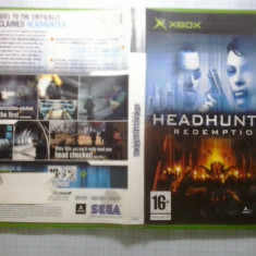 Joc XBox classic - Headhunter Redemption - (GameLand - sute de jocuri) - Jocuri Xbox, Actiune, 16+, Single player