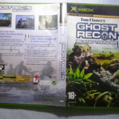 Joc XBox classic ( Compatibil XBox 360 ) - Tom Clancy's Ghost recon - Island thunder - (GameLand - sute de jocuri), Shooting, 16+, Multiplayer