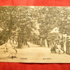 "Ilustrata Valcele Aleea Bailor - judet Covasna, anii '20, stamp. liniara ""Necunoscut""-bilingv - Carte Postala Transilvania dupa 1918"