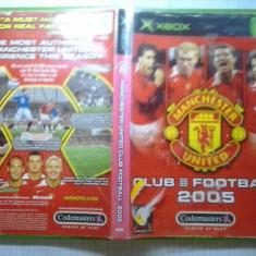 Joc XBox classic - Manchester United Club Fotball 2005 - (GameLand - sute de jocuri), Sporturi, 3+, Multiplayer