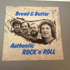 BREAD & BUTTER - AUTHENTIC ROCK'N ROLL(1979/BELLAPHON REC/RFG)- DISC VINIL/VINYL - Muzica Rock ariola