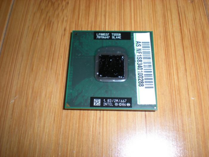 procesor laptop intel T5550 core 2 duo 1,83/2M/667 - socket P