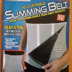 Centura de slabit reglabila din neopren in 5 trepte Slimming Belt - Echipament Fitness